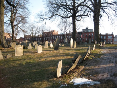 An additional photo of Copps Burying Ground, North End, Boston, MA.