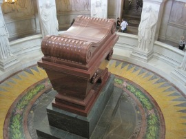 The tomb of Napoleon.