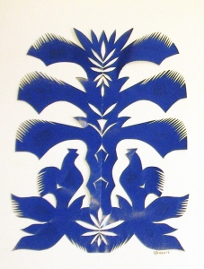 An example of Polish papercutting from the collection of the Lynn Museum & Historical Society, Lynn, MA.