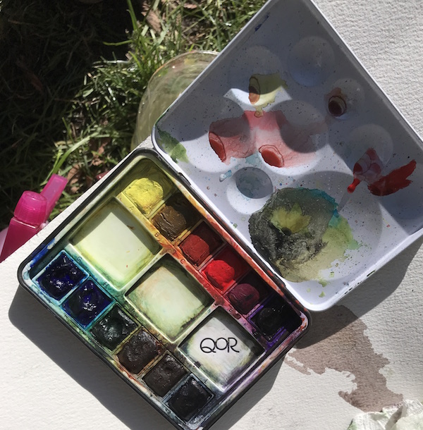 paint for one museum - QoR field palette